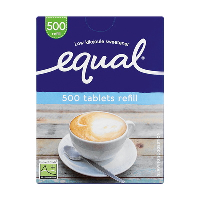 EQUAL LOW/KILO SWEETENER TABLETS 500EA