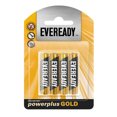 EVEREADY POWER PLUS GOLD AAA 4P 4EA