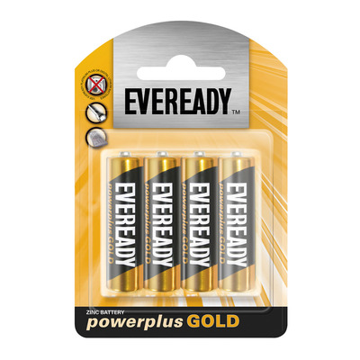 EVEREADY POWER PLUS GOLD  AA 4P 4EA