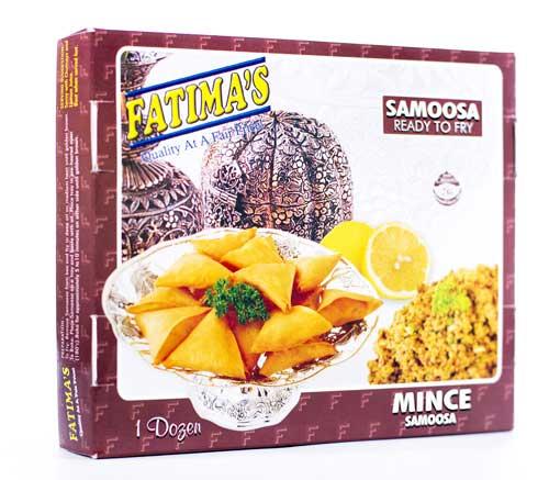 FATIMA'S MINCE SAMOOSAS 12EA