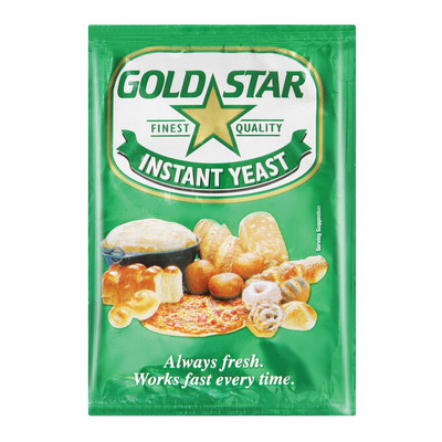 GOLD STAR YEAST INSTANT DRY 10GR