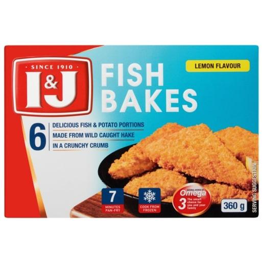 I&J FISH BAKE LEMON 360GR