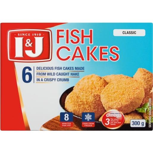 I&J FISH CAKES 300GR