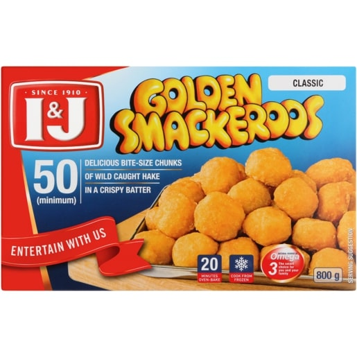 I&J GOLDEN SMACKEROOS 800GR