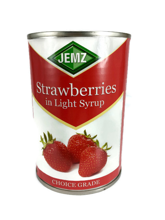 JEMZ STRAWBERRIES IN SYRUP 400GR