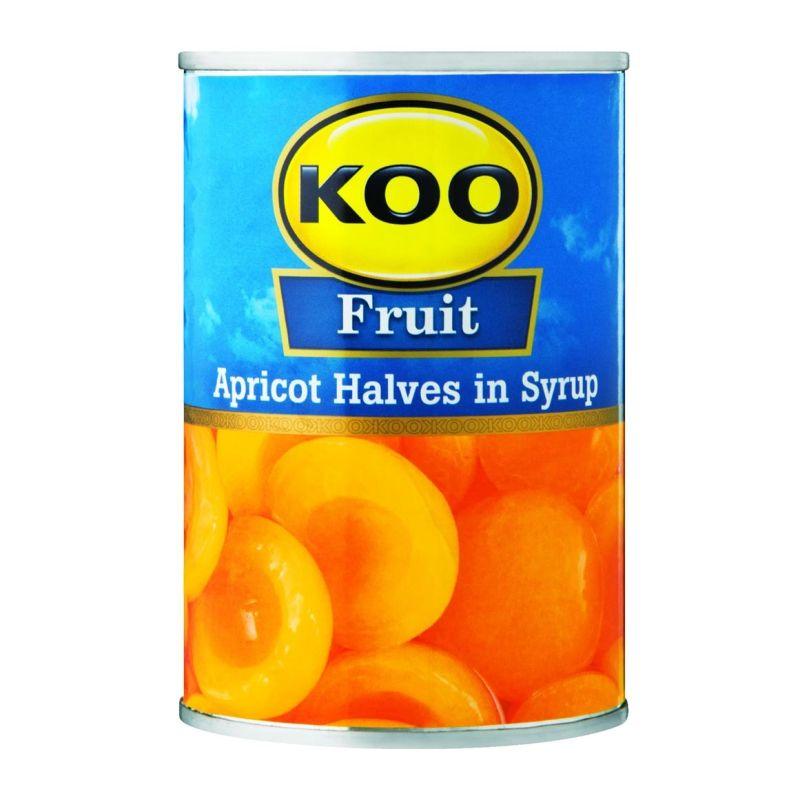 KOO APRICOT HALVES 410GR
