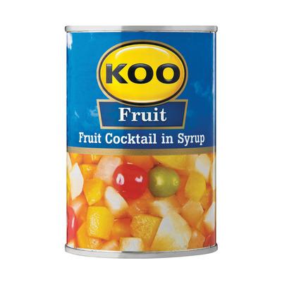 KOO CH GRADE FRUIT COCKTAIL 410GR