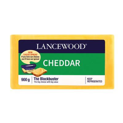 LANCEWOOD CHEDDAR PORTION 900GR
