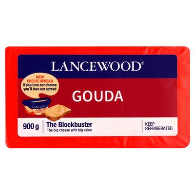 LANCEWOOD GOUDA CHEESE 900GR