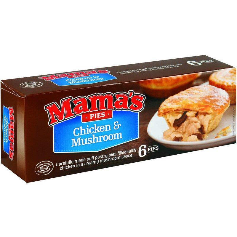 MAMA'S PIE CHICKEN&MUSHROOM 6EA