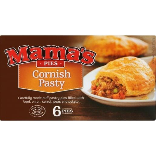 MAMA'S PASTIES CORNISH 6EA
