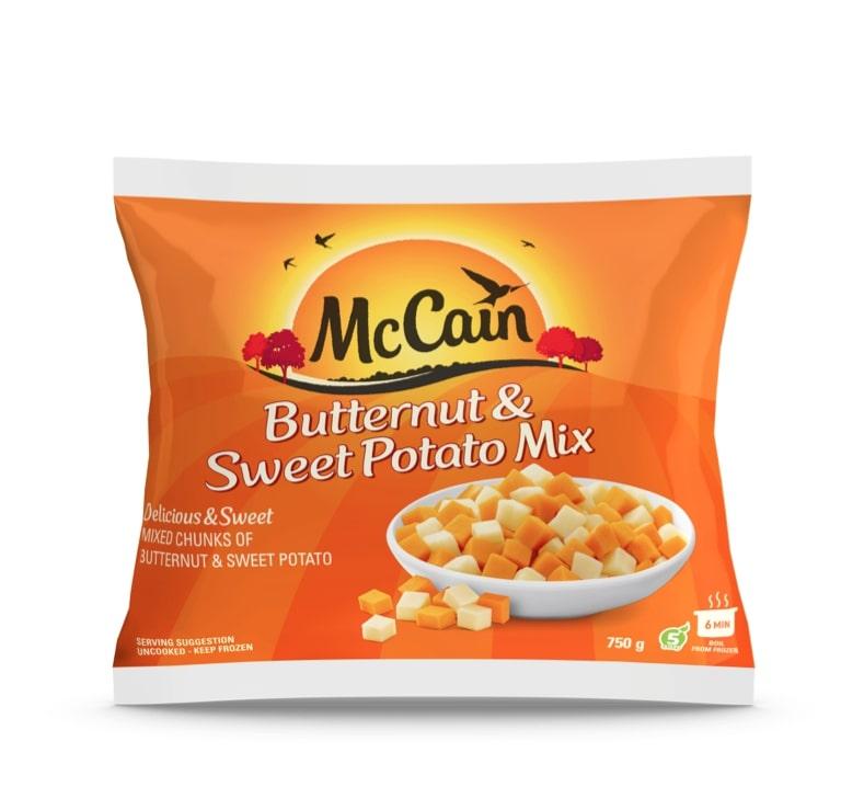 MCCAIN BUTTERNUT & SWEET POTATO 750GR
