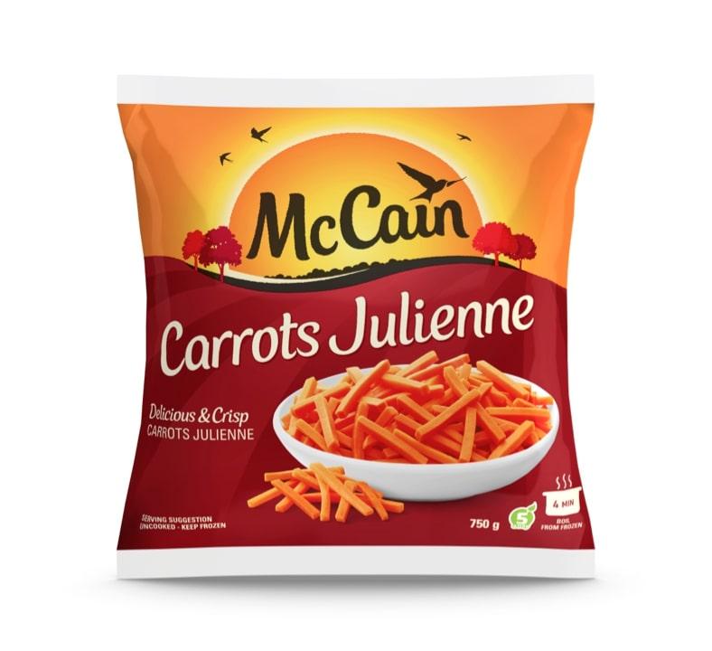 MCCAIN CARROTS JULIENNE 750GR