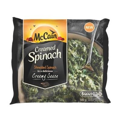 MCCAIN CREAMED SPINACH 500GR