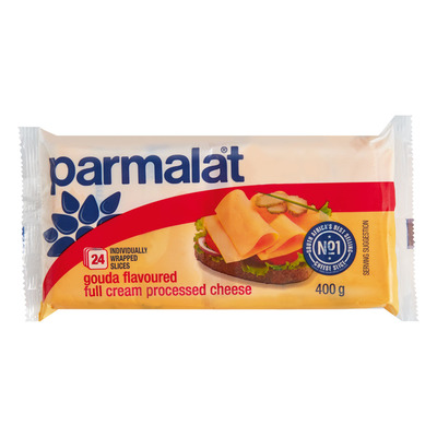 PARMALAT SLICED PROC GOUDA CHS 400GR
