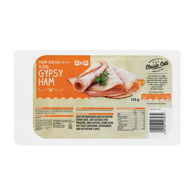 HOUSEBRAND SLICED GYPSEY HAM 125GR