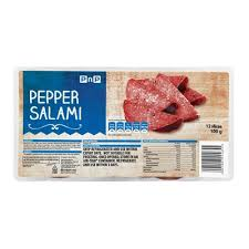 HOUSEBRAND SLICED PEPPER SALAMI 100GR