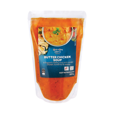 HOUSEBRAND BUTTER CHICKEN SOUP 600GR