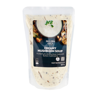 HOUSEBRAND CREAMY MUSHROOM SOUP 600GR