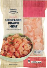 HOUSEBRAND FISHMONGER'S PRAWN MEAT MED 400GR