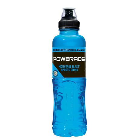 POWERADE SPORTS DRINK MOUNT BLST 500ML