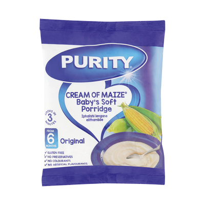 PURITY FORTIFIED MAIZE MEAL 400GR