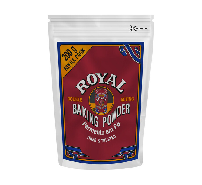 ROYAL BAKING POWDER REFILL 200GR