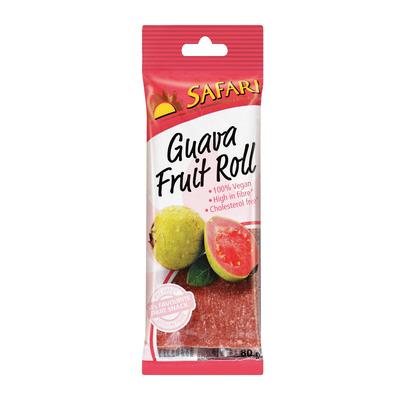 SAFARI FRUIT ROLL GUAVA 80GR