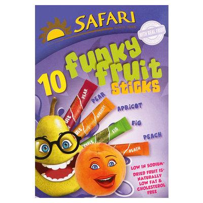 SAFARI FRUIT STIX ASSTD 10X25G 10EA