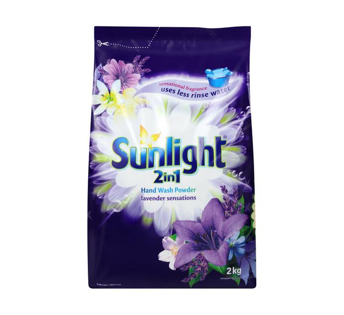 SUNLIGHT H/WASH POWDER LAVENDER 2KG